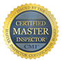Certified Master Inspector seal